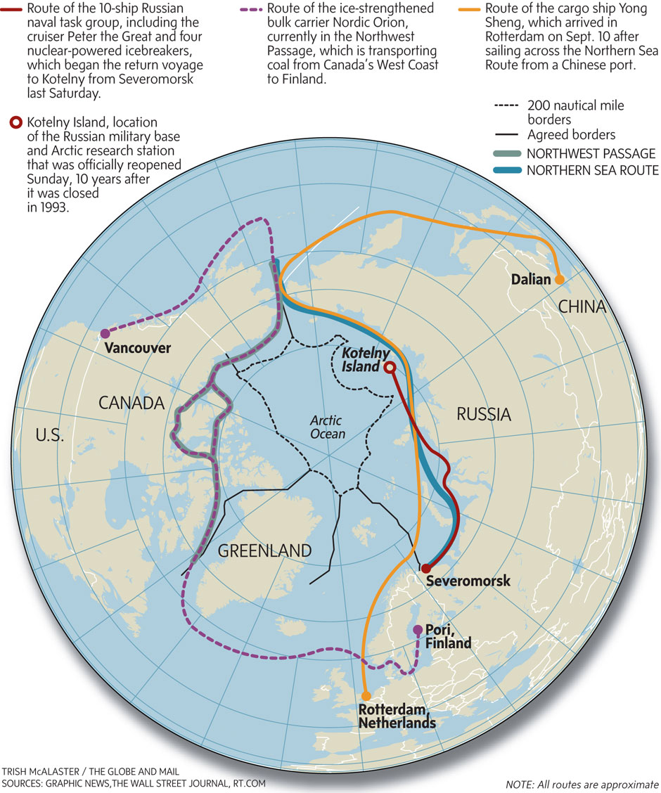 northeast passage and northern sea route The navigation season for transit passages on nsr starts approximately at the   in november the laptev sea and the east siberian sea are covered with new   northeast passage  whilst every effort has been made to ensure that details are  correct, center for high north logistics cannot provide any guarantees thereof.